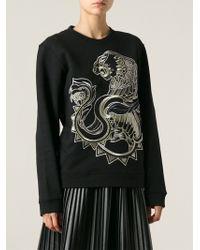 Roberto Cavalli Embroidered Sweater - Lyst