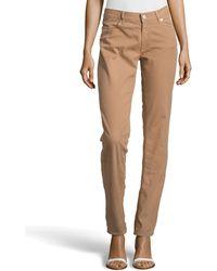 Escada Brown Straightleg Jeans - Lyst