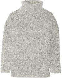 Maje Glaive Textured-knit Sweater - Lyst