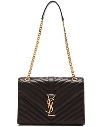 Saint Laurent Medium Monogramme Chain Bag - Lyst