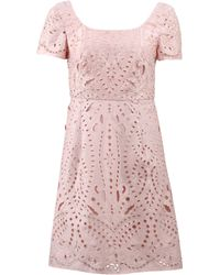 Notte by Marchesa | Mosaic Lace Cocktail Dress | Lyst