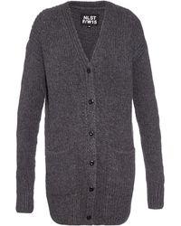 NLST - Fisherman Ribbed-knit Cardigan - Lyst