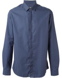 Ferragamo Checked Shirt - Lyst