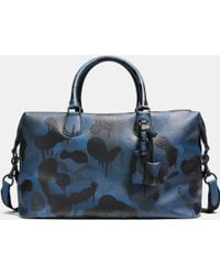 COACH   Explorer Duffle In Printed Pebble Leather   Lyst