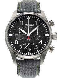 Alpina - Al-372b4s6 Stainless Steel Watch - Lyst