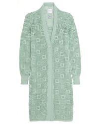 Alexander Lewis | Groupie Open-knit Cotton Cardigan | Lyst