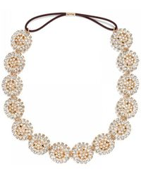 BaubleBar - Crystal Dandelion Hair Band - Lyst
