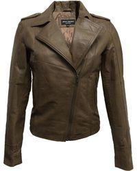 James Lakeland Short Leather Jacket - Lyst