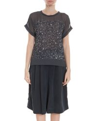 Day Birger Et Mikkelsen Rain Sequin Top - Lyst