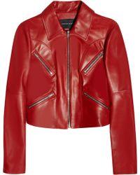 Jonathan Saunders | Matilda Leather Jacket | Lyst