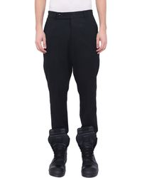 Rick Owens Woolen Easy Astaires Trousers - Lyst