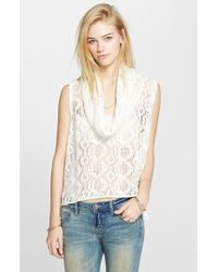Free People 'Just Like That' Sleeveless Cowl Top - Lyst