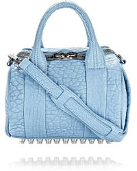 Alexander Wang | Mini Rockie Pebbled-Leather Duffle Bag | Lyst