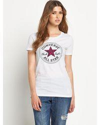 Converse Tribal Print Chuck Patch Tshirt - Lyst