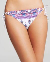 Nanette Lepore Maharaja Vamp String Bikini Bottom - Lyst