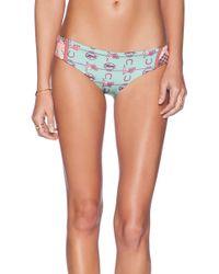 Maaji Cavalry Checker Bikini Bottom - Lyst