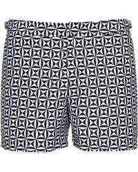 Orlebar Brown | Setter Tamanu-print Swim Shorts | Lyst