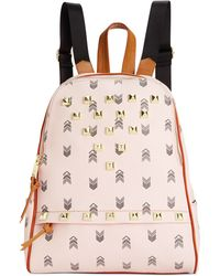 dd897bd21bd5 Steve Madden - Bscuti Print Backpack With Studs - Lyst