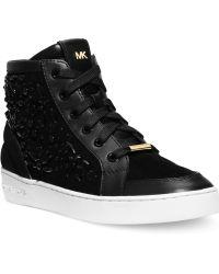 Michael Kors Michael Nadine High Top Sneakers - Lyst