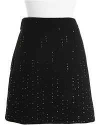 Christopher Kane Black Skirt - Lyst