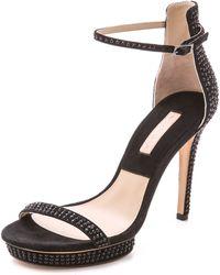 Michael Kors Doris Platform Sandals - Black - Lyst