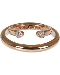 Maison Margiela Rose Double Band Ring - Lyst