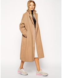 Asos Coat In Relaxed Oversized Fit - Lyst