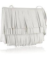 Proenza Schouler The Lunch Bag Fringed Leather Shoulder Bag - Lyst