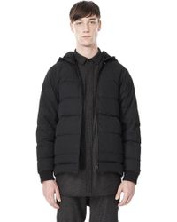 Alexander Wang Baseball Coat W Removeable Down Hood - Lyst