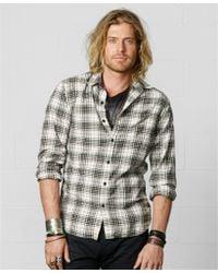 dfa85daeba Denim   Supply Ralph Lauren - Gunner Plaid Shirt - Lyst