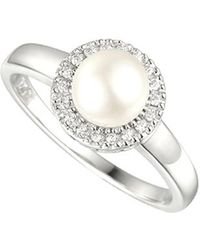 Amore Argento - Pearl Candy Ring - Lyst