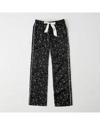 Abercrombie & Fitch - Satin Sleep Pants - Lyst