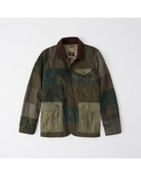 Abercrombie & Fitch - Patchwork Safari Jacket - Lyst
