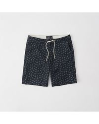 Abercrombie & Fitch - Pull-on Plainfront Shorts - Lyst