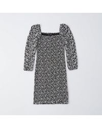 Abercrombie & Fitch - Smocked Bodycon Dress - Lyst