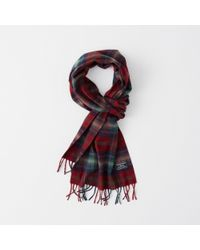 Abercrombie & Fitch - Woven Scarf - Lyst