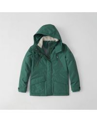 Abercrombie & Fitch - Midweight Technical Jacket - Lyst