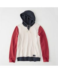 Abercrombie & Fitch - Americana Popover Hoodie - Lyst