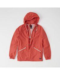 Abercrombie & Fitch - Windbreaker Jacket - Lyst