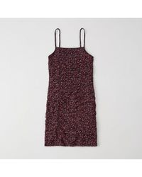 Abercrombie & Fitch - Ruched Dress - Lyst