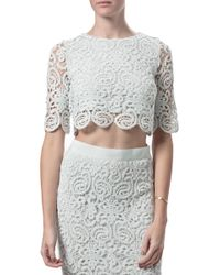 Miguelina Lou Top - Lyst