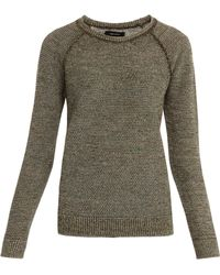 Isabel Marant Goa Ls Knitted Top - Lyst