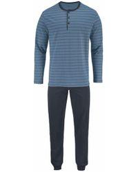 Seidensticker - Pyjama lang mit Streifen - Lyst