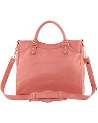 Balenciaga Giant 12 Golden Velo Bag pink - Lyst