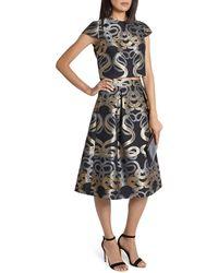 Ted Baker | Primmy Snake Jacquard Full Skirt | Lyst