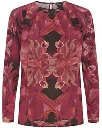 Ted Baker Jungle Orchid Top - Lyst