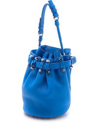 Alexander Wang Small Diego Bucket Bag - Airforce - Lyst