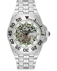 Android - Stainless Steel Corsair Skeleton Watch - Lyst