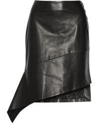 Reed Krakoff | Asymmetric Leather Skirt | Lyst