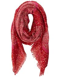 Marc By Marc Jacobs Karoo and Floral Print Scarf - Lyst